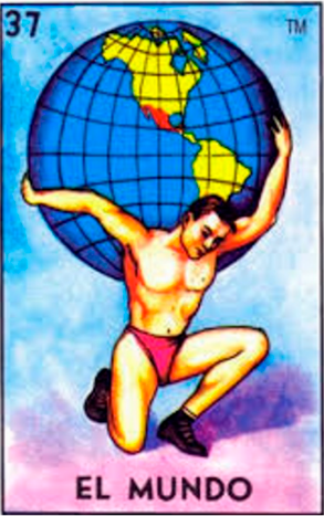 Human holding the world| El Mundo